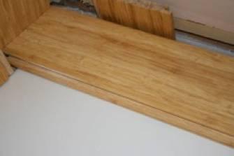 Click lock bamboo flooring installation diy install no for Installing click lock flooring