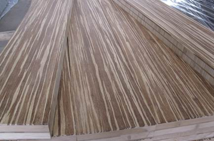 Tiger Strand Bamboo Plywood Panel Vertical Core