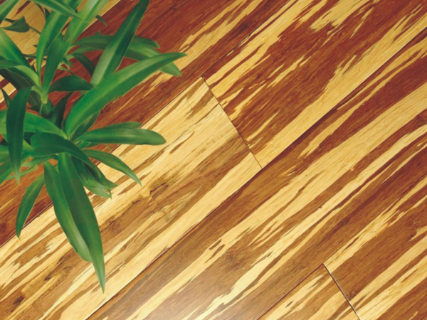 Long Plank Tiger Bamboo Flooring