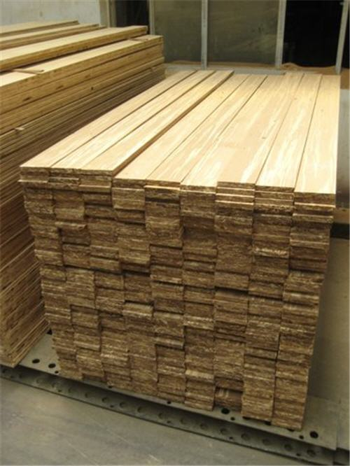 Strand Woven Bamboo Flooring Manufacturing Process Durable