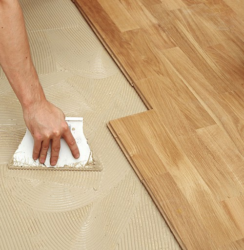 glue down - Bamboo Wood Flooring