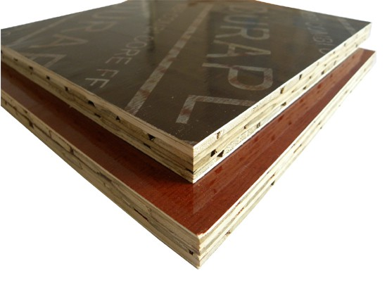 Bamboo Plywood Film Faced Bamboo Construction Formwork Board