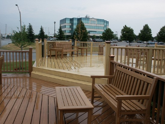 Wood Plastic Composite - WPC - Renewable Material - Recylced Bamboo