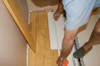 click lock flooring installation