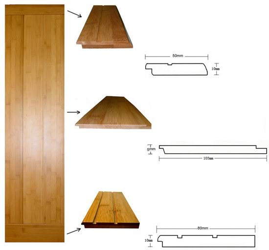 Bamboo Wall Panel - Interior - Exterior - Ceiling Cover - Wall Cladding
