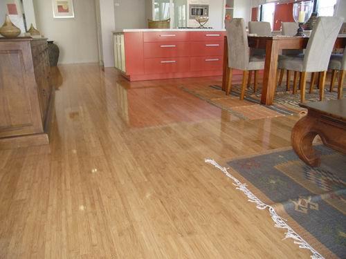 Semi Gloss Bamboo Flooring