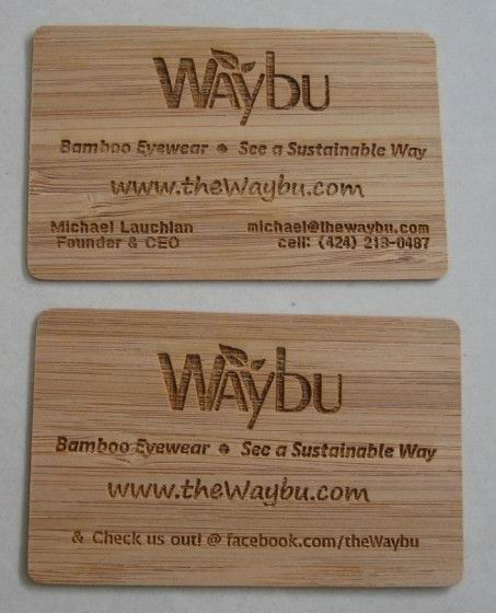 Bamboo business cards boatremyeaton bamboo business cards reheart Gallery