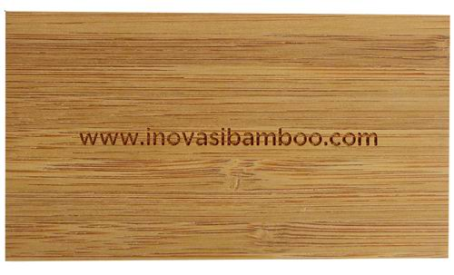 Bamboo business cards custom made laser carved bamboo business cards colourmoves Images