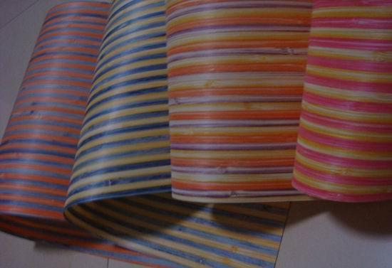 Dyed Bamboo Veneer Colored Bamboo Veneer Various