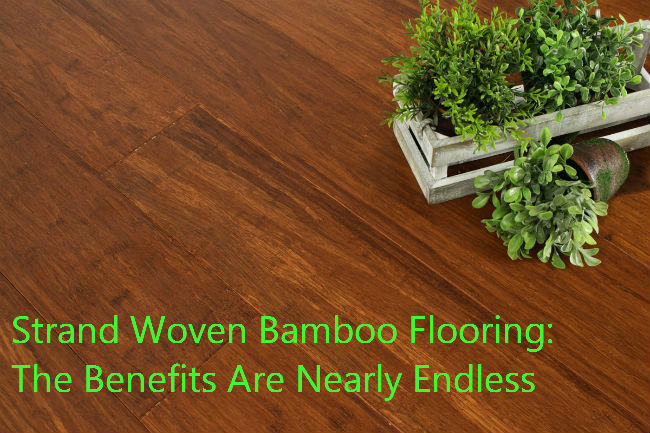 Strand woven bamboo flooring the benefits are nearly endless for Benefits of bamboo flooring
