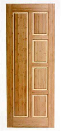 bamboo doors & Bamboo Door - Interior Bamboo Doors Made of Solid Bamboo Panel