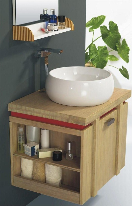 bamboo bathroom cabinet vanity new furniture for traditional wood