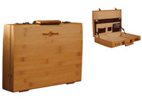 bamboo suitcase