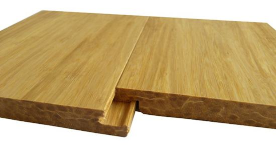 Solid Click Strand Woven Bamboo Flooring Natural
