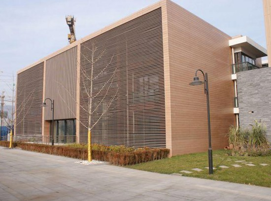 Wpc Wall Panel Wall Cladding Exterior Outdoor
