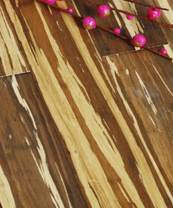 Tiger Stripe Strand Woven Bamboo