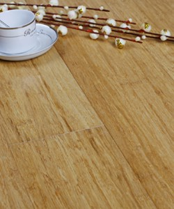 Floating Strand Woven Bamboo Flooring Natural Unilin Click System