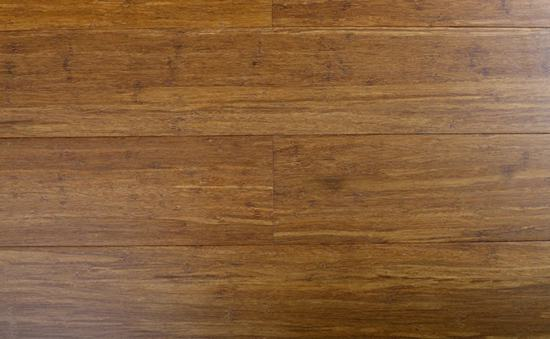Caramel Solid Click Strand Woven Bamboo Flooring